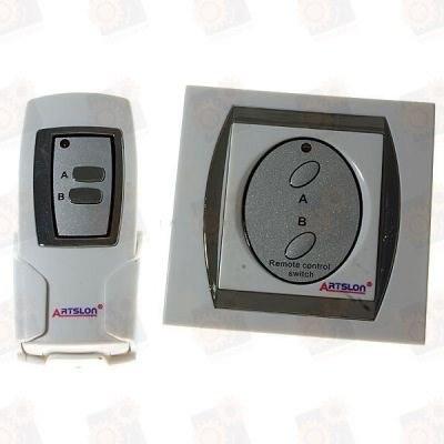 Двухканальный дистанционный включатель/выключатель электрических приборов