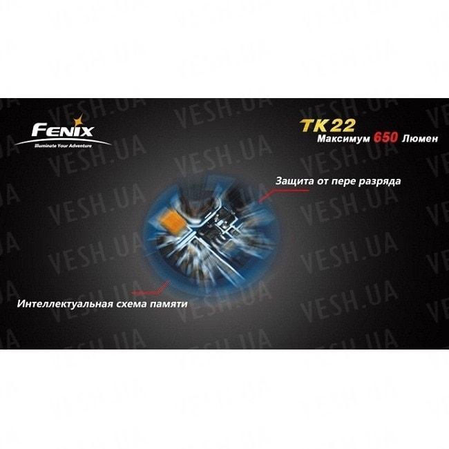Фонарь Fenix TK22 Cree XM-L (U2)