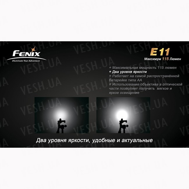 Фонарь Fenix E11 Cree XP-E