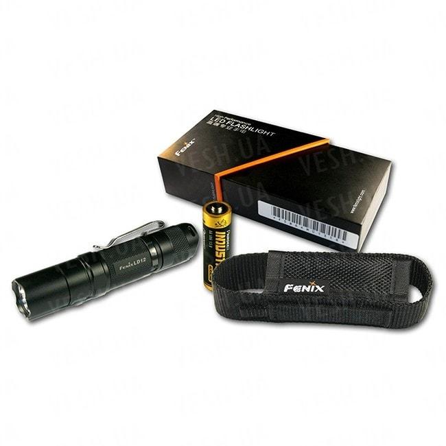 Фонарь Fenix LD12 Cree XP-G2 (R5) в подарочной упаковке