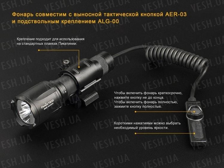 Фонарь Fenix TK25 R&B XP-G2 (S3)