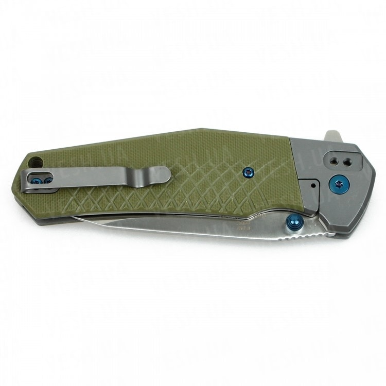 Нож Firebird F7491 (черный, зеленый, оранжевый)