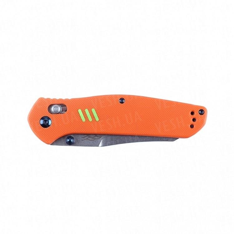 Нож Firebird F7562 (черный, зеленый, оранжевый)