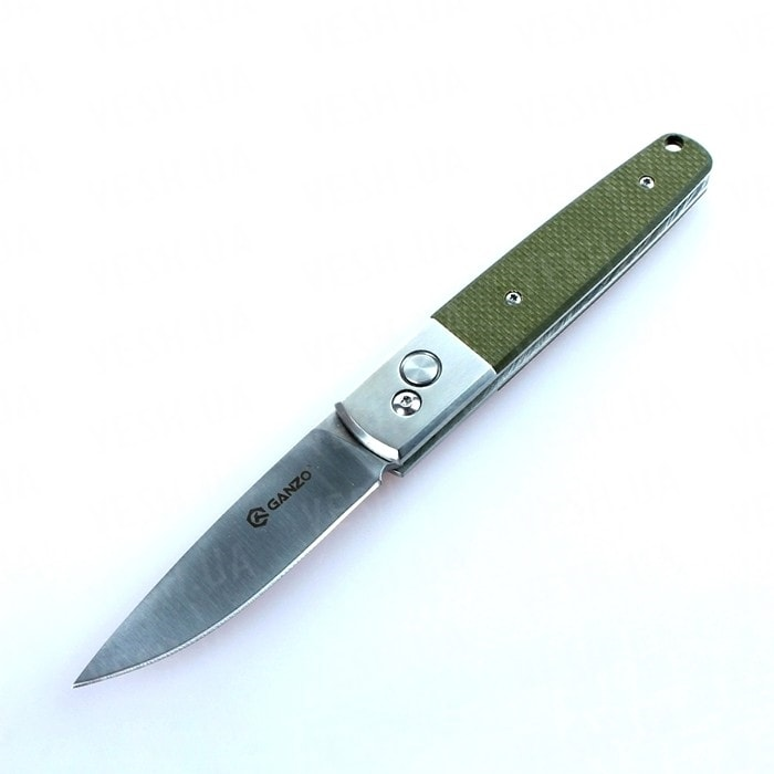 Нож Ganzo G7211 (черный, зеленый)