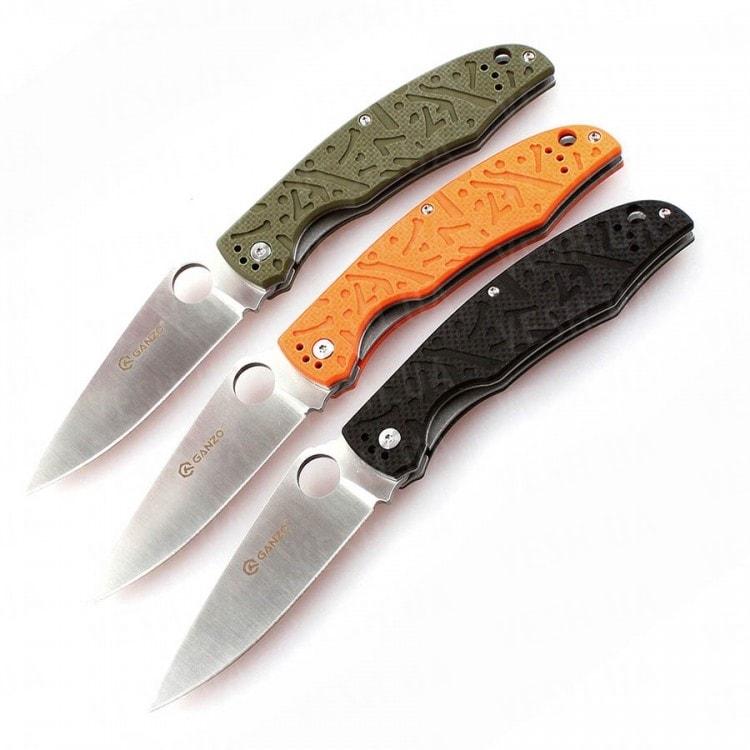 Нож Ganzo G7321 (черный, зеленый, оранжевый)