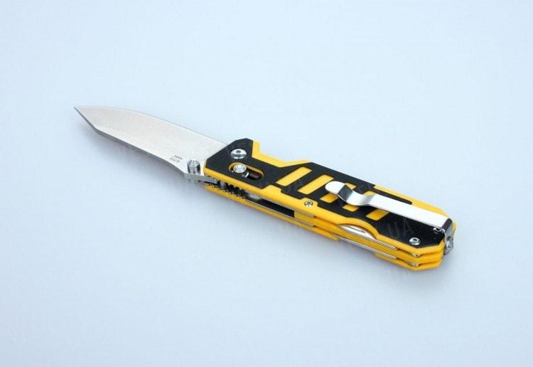 Нож Ganzo G735 (черный, зеленый, оранжевый, черно-желтый)