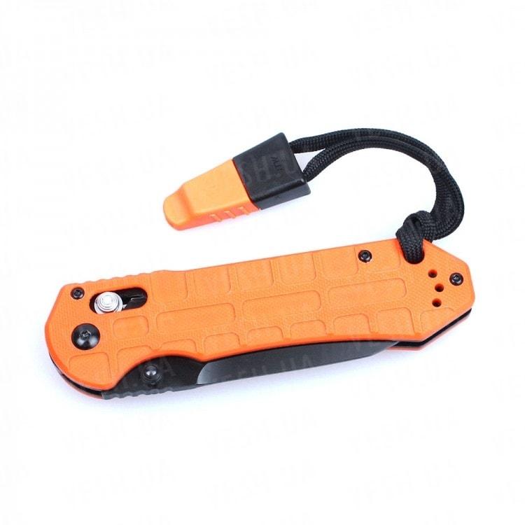 Нож Ganzo G7453P-WS (черный, оранжевый)