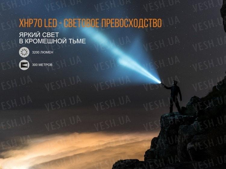 Фонарь Fenix TK35UE (2018) Cree XHP70 HI