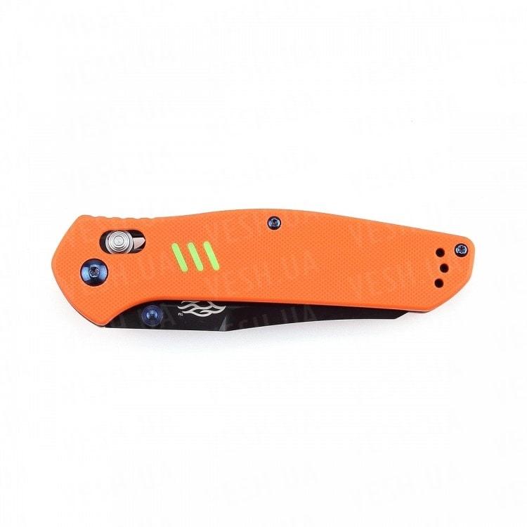 Нож Firebird F7563 (черный, серый, оранжевый)