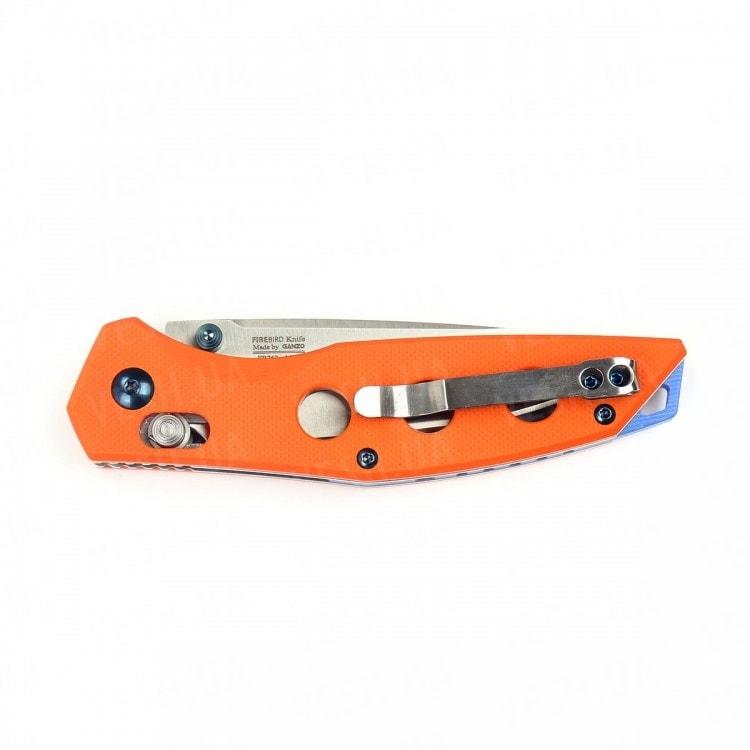 Нож Firebird FB7621 (черный, зеленый, оранжевый)