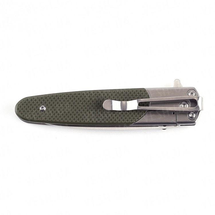 Нож Ganzo G743-1 (черный, оранжевый, зеленый)