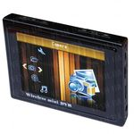 Портативный приёмник беспроводных камер нового поколения - стандарта 2.4 и 5.8 Ghz c LCD экраном, записью видео и мультимедийными возможностями (модель TE968H). НОВИНКА 2013 ГОДА!!!