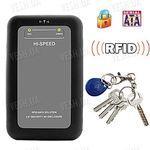 """Криптозащита для жесткого диска (SATA, 2.5"""") (RFID ключ+шифрование данных)"""