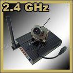 Набор беспроводная USB цифровая Wi-Fi МИНИ радио видеокамера 2.4 Ghz + приёмник видеосигнала с прямым USB подключением к компьютеру или ноутбуку (модель CRP-208 USB)