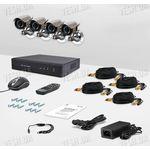 Комплект видеонаблюдения CnM Secure DCK-1004H KIT PRO