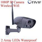 Профессиональная уличная наружная беспроводная Wi Fi сетевая IP видео камера (модель Onvif Blue Iris H.264 2MP1080P HD Sony Sensor)