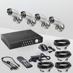 Комплект видеонаблюдения «установи сам» Eif systems DVK-3004KIT PRO