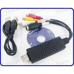1 канальный видео USB преобразователь с аудио каналом для записи видео на компьютер EasyCAP USB 2.0