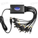 Профессиональный H.264 RealTime 8-ми канальный USB видеорегистратор с записью в CIF 160 к/c c 4-мя аудиовходами с поддержкой Windows 7 для компьютеров и ноутбуков (модель QQ DVR 8CIF4)