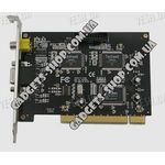 4-х канальная H.264 компьютерная PCI плата видеозахвата для CCTV камер + 2 звуковых канала + ТВ выход (50 fps)