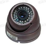 Цветная купольная видеокамера в антивандальном корпусе с варифокальным объктивом F=4-9mm, 1/3 SONY, 420 TVL (модель 412 DV6)