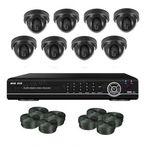 Супербюджетный 8-ми камерный комплект внутреннего видеонаблюдения (8 внутренних камер)