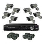 8-ми камерный комплект наружного видеонаблюдения (8 уличных камер) модель 4808R-WHD