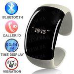 """Стильный дамский bluetooth браслет - часы с определителем номера звонящего, виброзвонком и функцией """"антиутеря телефона"""""""