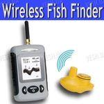 Портативный беспроводный сонар (эхолот, рыболокатор) для поиска рыбы (модель FF-200 wireless)