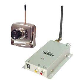 Набор беспроводная МИНИ радио видео камера 1.2 Ghz + приёмник видеосигнала, фото 1