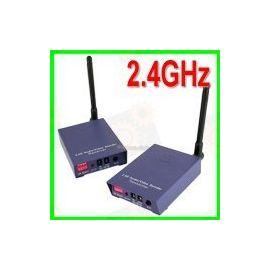 1.2 W Беспроводный передатчик (усилитель) приёмник видеосигнала со звуком на расстояние до 1000 метров, фото 1