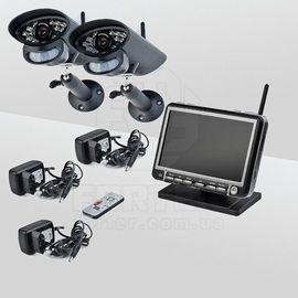 Комплект беспроводного видеонаблюдения Smartwave WDK-S01х2 KIT, фото 1