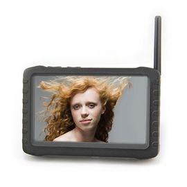 """Беспроводной портативный монитор 5"""" c детектором движения (8 каналов) 2.4Ghz HD DVR, фото 1"""