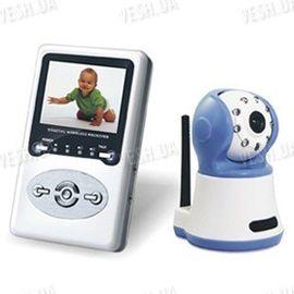 Цифровая беспроводная ВИДЕОНЯНЯ - комплект беспроводного наблюдения за ребёнком с LCD приёмником (модель VN-320R), фото 1