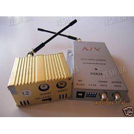 4-х канальный 3 W комплект беспроводной передачи видео на частоте 1.2 Ghz на расстояние до 2000 метров (ТХ 3000 А), фото 1