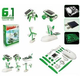 Игрушка-конструктор на солнечной батареи, фото 1