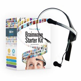 Нейроконтроллер Bluetooth гарнитура NeuroSky MindWave HeadSet Mobile ver.2 для iPad, iPhone, Android, PC, Mac OS X, фото 1