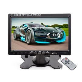 Автомобильный монитор 7 дюймов для камеры заднего вида Podofo K0106, 1024х600, AV, VGA, HDMI, фото 1