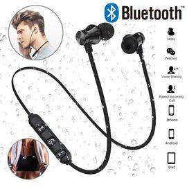 Беспроводные наушники для спорта bluetooth 4.1 Heonyirry C310 c микрофоном, черные, фото 1
