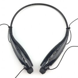 Bluetooth наушники гарнитура, одевающиеся на шею Heonyirry HBS-730, черные, фото 1