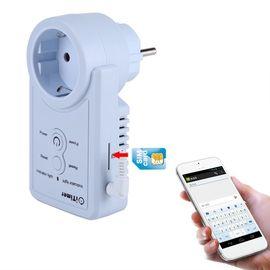 GSM розетка с датчиком температуры c дистанционным управлением через СМС iTimer, фото 1