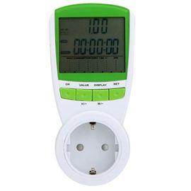 Портативный розеточный счетчик электроэнергии энергометр ваттметр бытовой TS-838, фото 1
