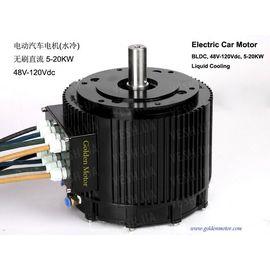 Электромотор BLDC HPM-10KW водяное охлаждение, фото 1
