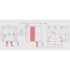 BLDC безщеточный мотор постоянного тока 55Вт 24В, фото 1