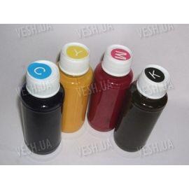 CMYK чернила для струйного принтера видимые при обычном свете и светящиеся в UV, фото 1