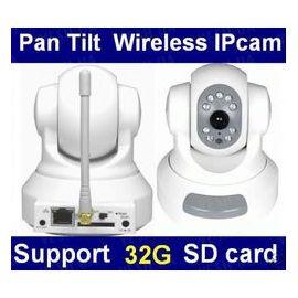 H.264 беспроводная WI-FI цветная поворотная автономная интернет IP камера (модель GD-2805), фото 1