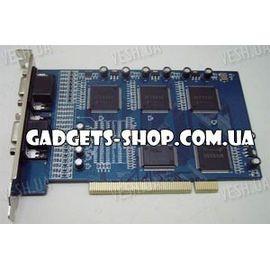 16-ти канальная H.264 компьютерная PCI плата видеозахвата для CCTV камер + 8 звуковых каналов + ТВ выход (400 fps), фото 1