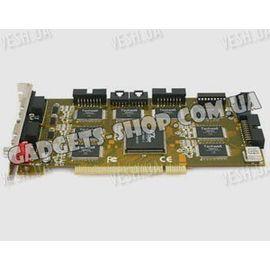 32-х канальная H.264 компьютерная PCI плата видеозахвата для CCTV камер + 8 звуковых канала (200 fps), фото 1