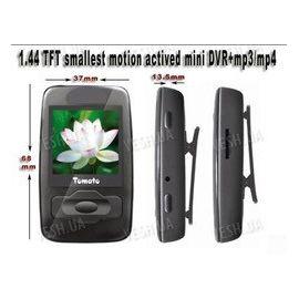 Компактный цифровой мини видеорегистратор с детекцией движения, MP3/MP4 плеером и 1.44 LCD дисплеем (мод. T99), фото 1
