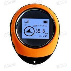 Портативный ручной мини GPS компас навигатор с LCD экраном для туристов и путешественников, фото 1